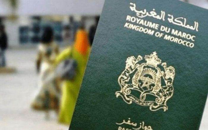 passeport maroc